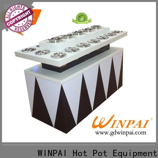 WINPAI safety picnic table cup holders manufacturers for leisure places