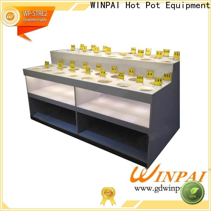 WINPAI winpai bamboo condiment caddy Suppliers for hotels