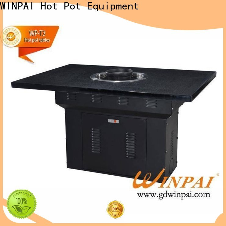 WINPAI top bbq serving table company for cafe