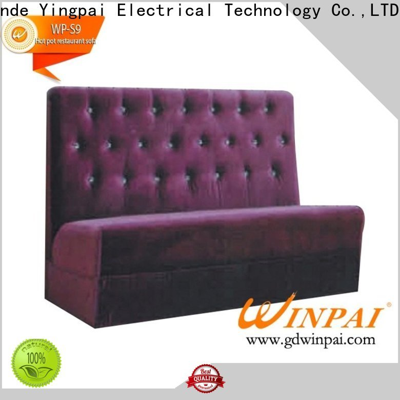 WINPAI safety custom couches for sale manufacturers for restaurant