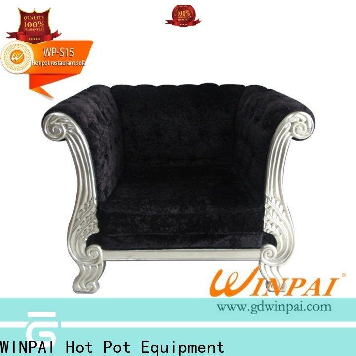 Latest bench cushion sofa restaurants factory for hotel