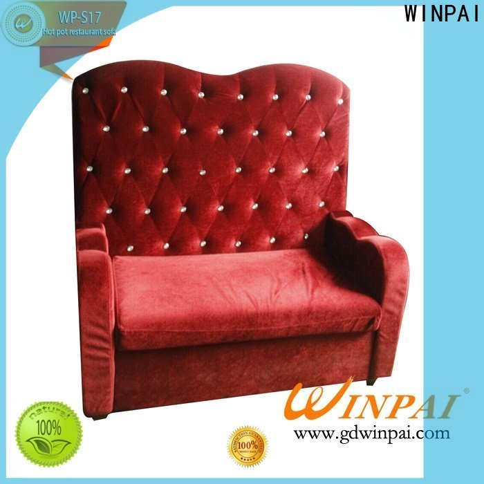 WINPAI tables bench settee furniture manufacturers for hotel