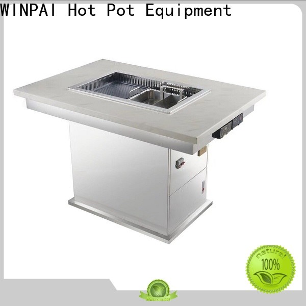 WINPAI pot portable outdoor picnic table manufacturer for cafe