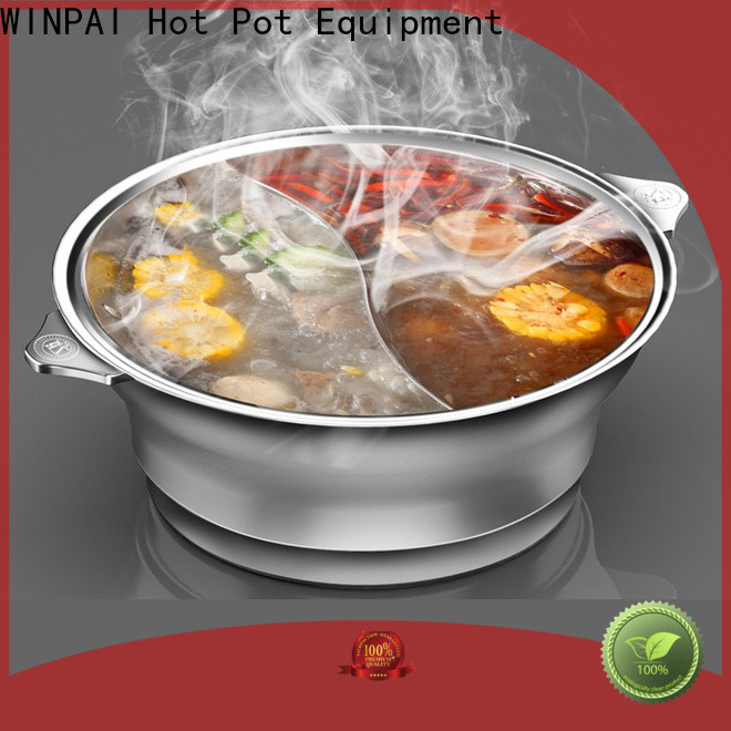 WINPAI electric hot pot table supplier supplier for indoor