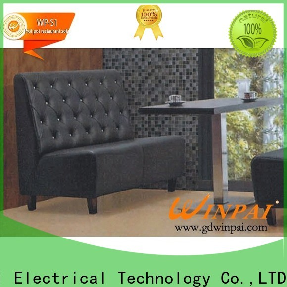 WINPAI electric pallet furniture bench factory for hotel