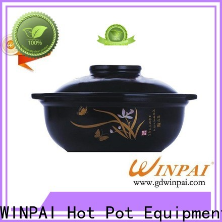 WINPAI New Hot Pot Restaurant Table Supply for indoor