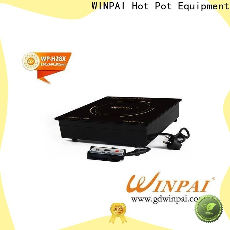 WINPAI electric induction flat top stove factory for restaurant