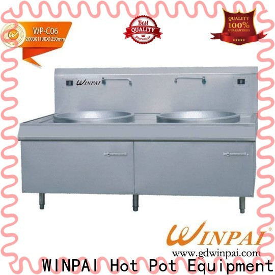 WINPAI commercial top induction hobs for restaurant