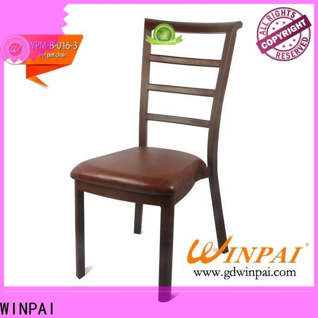High-quality steel frame kitchen chairs party Suppliers for restaurant