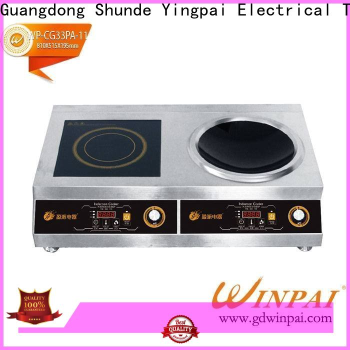 high efficiency best electric induction cooker small supplier for restaurant