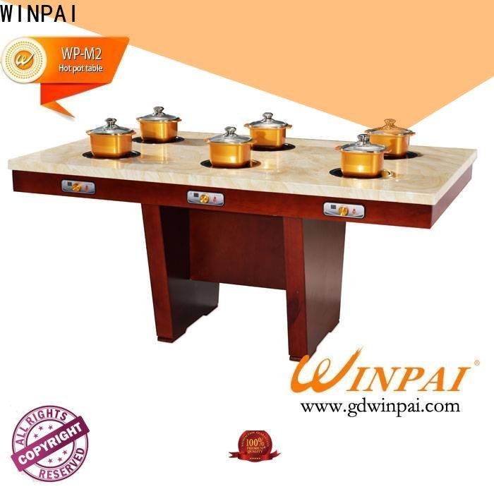 WINPAI high efficiency chinese hot pot with grill for business for hotpot city