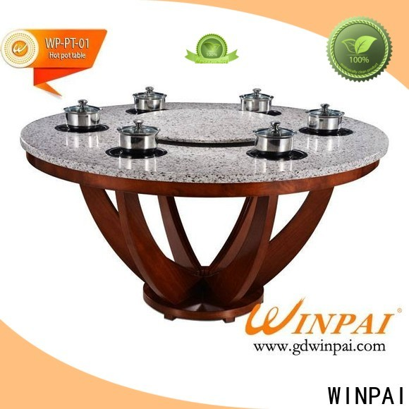 WINPAI quartz table top chinese hot pot manufacturers for hotpot city
