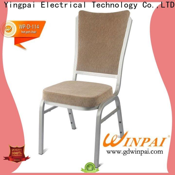 WINPAI winpai Hotpot Restaurant Chair manufacturer for dinning room