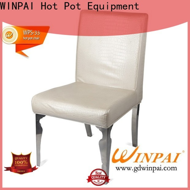 comfortable steel and leather dining chairs sale factory for living room