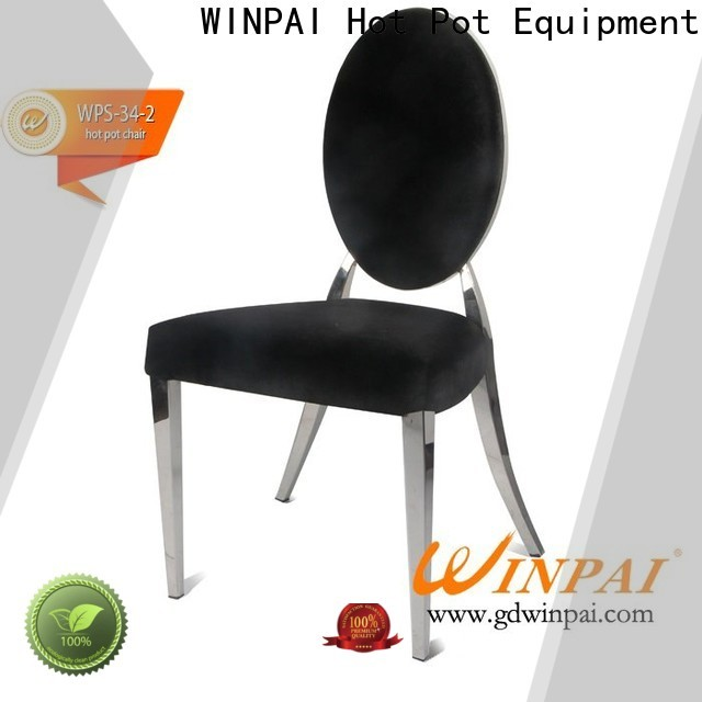 WINPAI Custom buy metal chairs manufacturers for dinning room