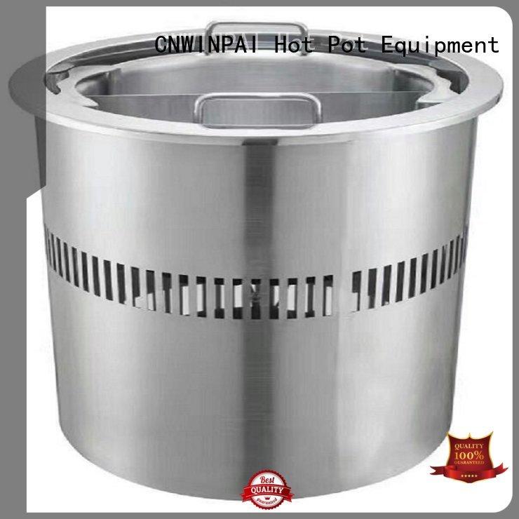 CNWINPAI Brand induction hot pot cookware restaurantbuffet factory