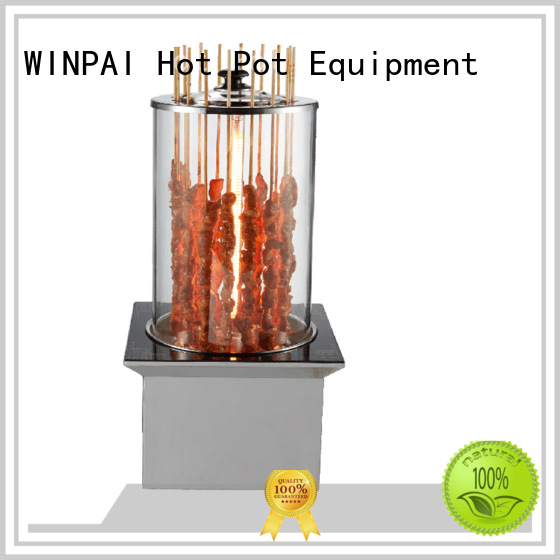 WINPAI safety Smokeless BBQ for business for indoor