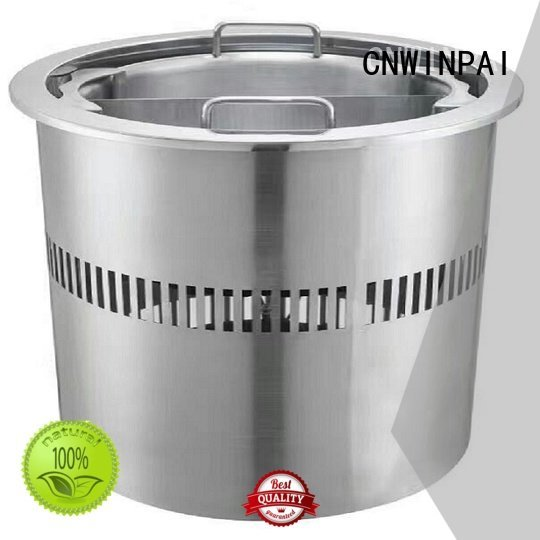 Quality copper stock pot CNWINPAI Brand stove hot pot cookware
