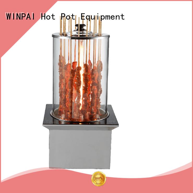 WINPAI pot korean bbq grill equipment manufacturer for home