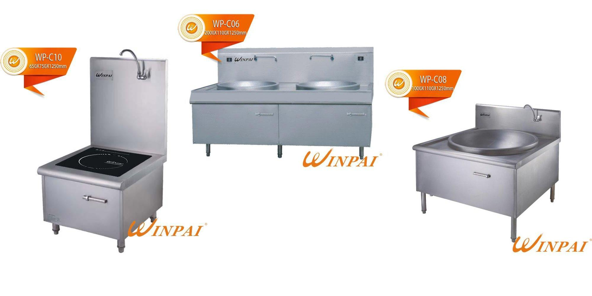 Top induction stove models woks supplier for restaurant-3