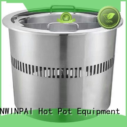 CNWINPAI copper stock pot oem smokeless quality
