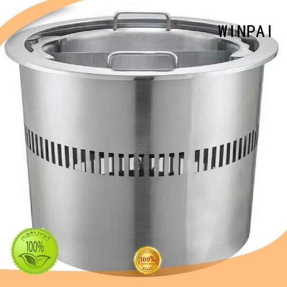 copper stock pot bar wine hot pot cookware WINPAI Brand