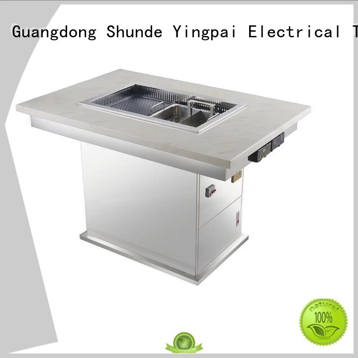 safety korean bbq grill table top manufacturer for cafes