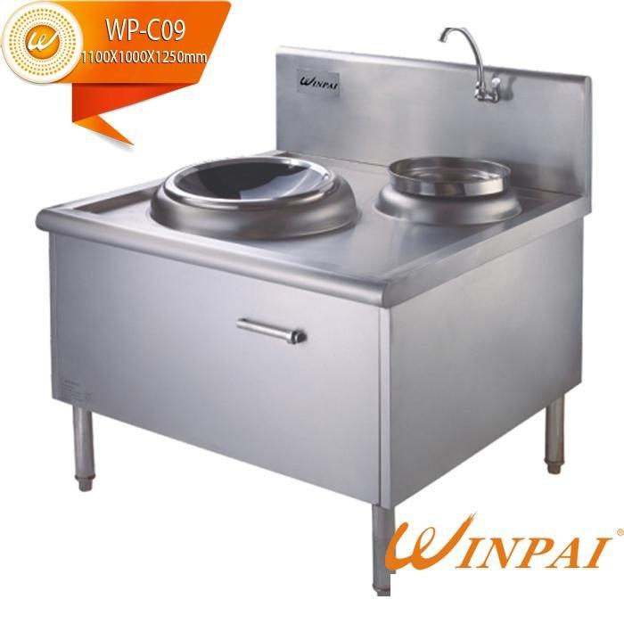 CNWINPAI round double hot pot cookware single touch-WINPAI-img-1