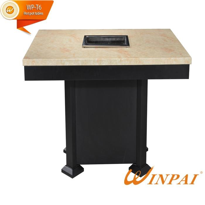 WINPAI Latest restaurant bbq table manufacturer for cafes-3