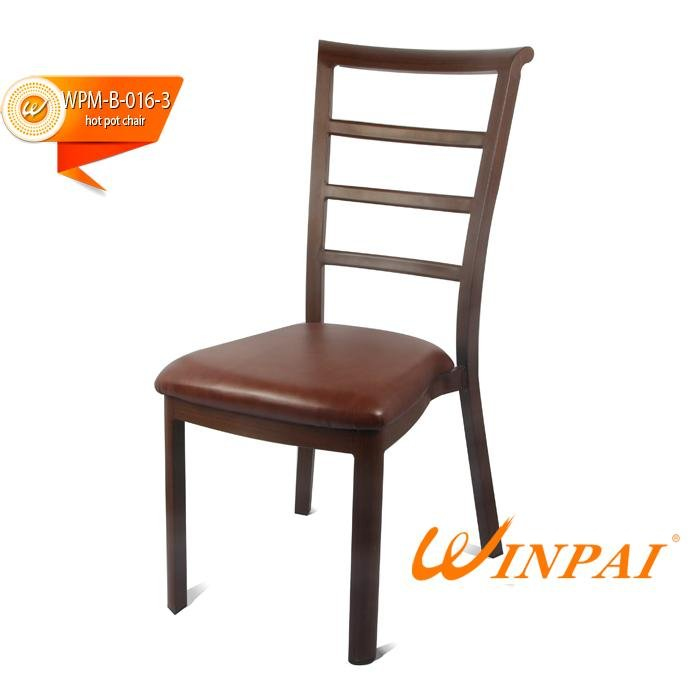 High-quality steel frame kitchen chairs party Suppliers for restaurant-2