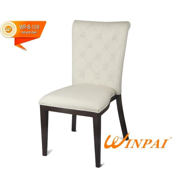 comfortable custom hot pot chair metail supplier for home