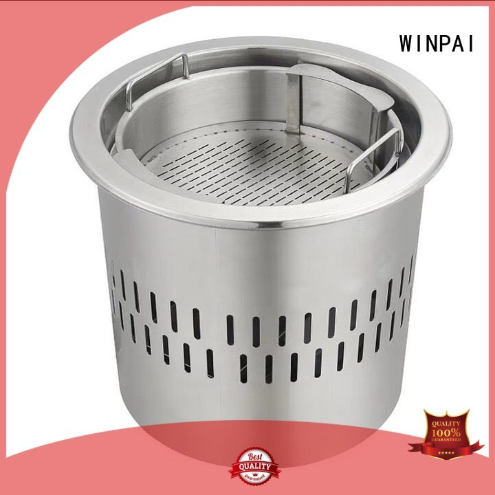 WINPAI safety hot pot cookware wholesale for villa